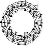 musikcirkel Arkivfoto