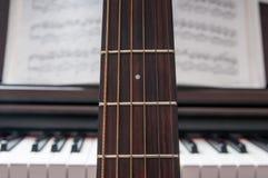 Musikcollage lizenzfreie stockfotografie