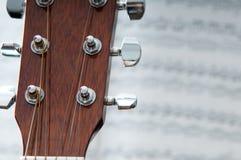Musikcollage Stockfoto