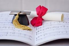 Musikdiplom Royaltyfri Fotografi