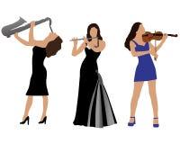 musiker vektor abbildung