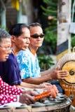 Musiker bei Rim Yom Market Stockbilder
