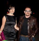 Musiker Bono Arkivfoton