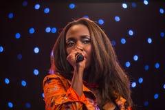 Musiker Dela Royaltyfria Foton