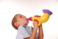 musiker för 2 pojke arkivbild