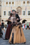 Musiker impressario Royaltyfria Bilder