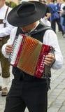 Musiker mit Harmonie Lizenzfreies Stockbild