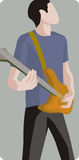 Musikerabbildungserie Lizenzfreie Stockbilder