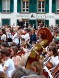 Musikereignis: sternspiel in Bern Stockbild