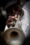 musikerNew Orleans gata Royaltyfria Foton