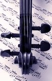 musikfiol Arkivfoto