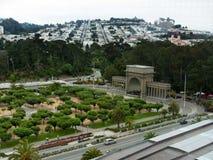 Musikfolkhop i San Francisco Golden Gate parkerar Royaltyfri Foto