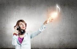 Musikfreund Lizenzfreie Stockfotografie