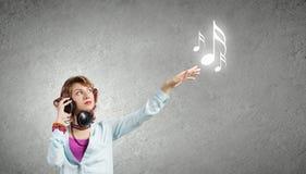 Musikfreund Stockfoto