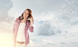Musikfreund Lizenzfreies Stockfoto