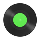 Musikgrammophonplatte Stockfotografie