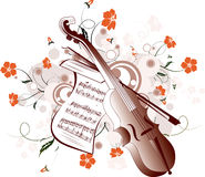 Musikhintergrund Lizenzfreies Stockbild