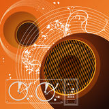 Musikhintergrund vektor abbildung