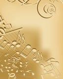 Musikhintergrund Stockbilder