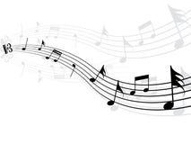 Musikhintergrund Lizenzfreie Stockbilder