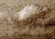 Musikhintergrund Stockbild