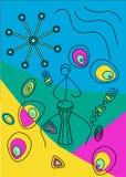 Musikhjärta vektor illustrationer