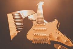 Musikhupe stellte 3 ein Lizenzfreie Stockfotografie