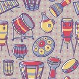 Musikhupe stellte 3 ein Trommeln eingestellt perkussion Verschiedene Varianten der Farbe sind möglich Stockfotografie