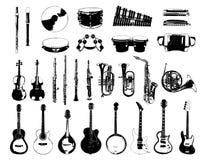 Musikinstrument stock abbildung