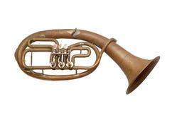 Musikinstrument der alten Weinlese Stockfoto