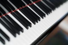 Musikinstrument des Klaviers stockbilder