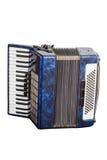 Musikinstrument ein Akkordeon Lizenzfreies Stockfoto