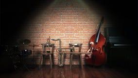 Musikinstrumente lizenzfreie abbildung