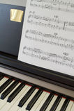 Musikinstrumente: Klavier (1) Stockfoto