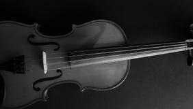Musikinstrumentfiol Forntida fiol Stränginstrument royaltyfri fotografi