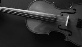 Musikinstrumentfiol Forntida fiol Stränginstrument arkivbilder