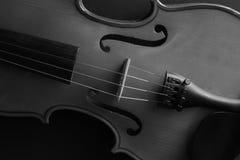 Musikinstrumentfiol Forntida fiol Stränginstrument Arkivbild
