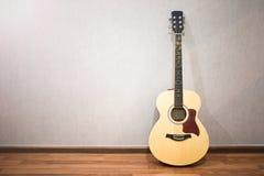 Musikinstrumentgitarr Fotografering för Bildbyråer