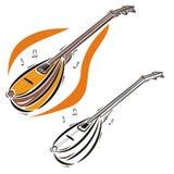 Musikinstrumentserie Stockbild