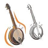 Musikinstrumentserie Lizenzfreie Stockfotografie