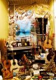 Musikinstrumentskärm Royaltyfria Bilder