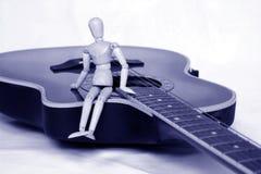 Musiklektionen Lizenzfreies Stockbild