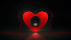 Musikliebe stock abbildung