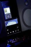 Musikmultimedia-spieler und -sprecher Lizenzfreies Stockfoto