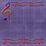 Musikpapier Stockbild