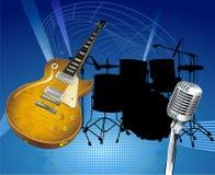 musikrock Royaltyfria Bilder
