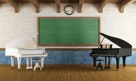 Musikskola vektor illustrationer
