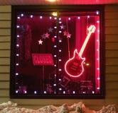 Musikspeicher nachts Stockbilder