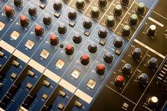Musiksteuerung lizenzfreie stockbilder