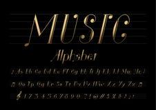Musikstilsort stock illustrationer